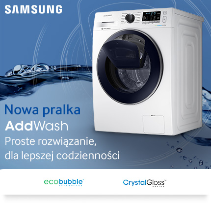 Pralka Samsung WW80K5410UW Eco Bubble