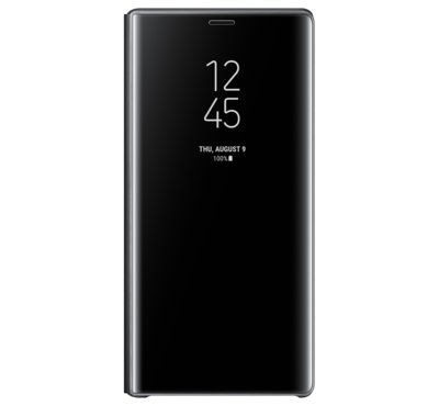 Etui Clear View Standing do Galaxy Note9, czarne (EF-ZN960CBEGWW)