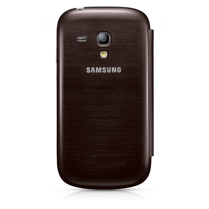 Case Cover do Galaxy S III mini Brązowy (EFC-1M7FAEGSTD)