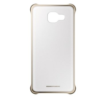 Etui clear cover do Galaxy A5 (2016), złote (EF-QA510CFEGWW) (145881041)