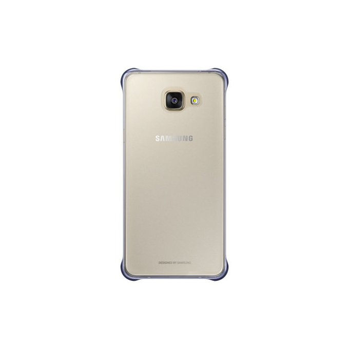 Etui clear cover do Galaxy A5, czarne (EF-QA510CBEGWW)