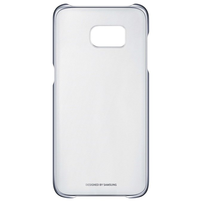 Etui clear cover do Galaxy S7, czarne (EF-QG930CBEGWW)