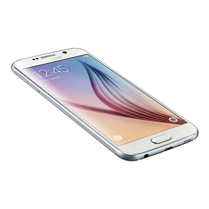 Galaxy S6 (32 GB), White Pearl