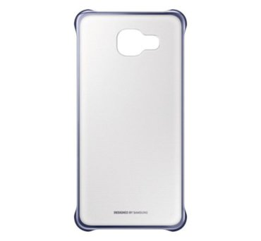 Etui clear cover do Galaxy A3, czarne (2016) (EF-QA310CBEGWW) (145880971)