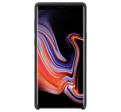 Etui Silicone Cover do Galaxy Note9, czarne (EF-PN960TBEGWW)