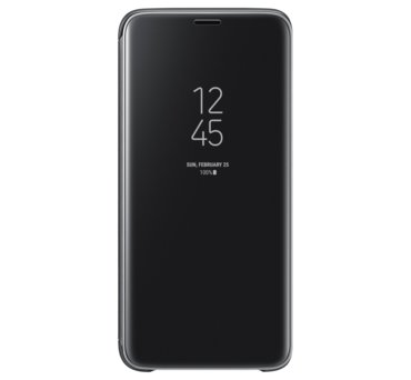 Etui Clear View Standing Cover do Galaxy S9, czarne (EF-ZG960CBEGWW) (168521447)