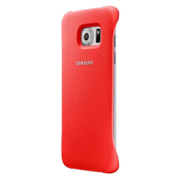 Protective Cover Case Coral do Galaxy S6 Edge - (EF-YG925BPEGWW)