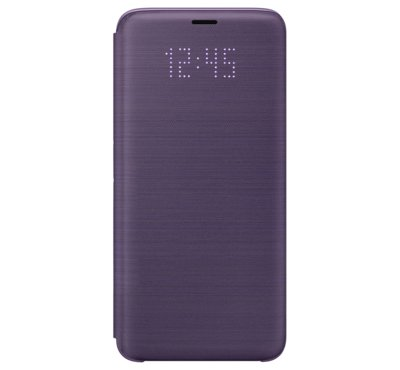 Etui LED View Cover do Galaxy S9, fioletowe (EF-NG960PVEGWW)