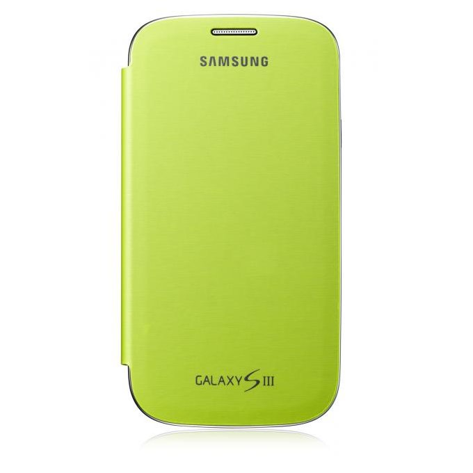 Flip Case for Galaxy SIII (EFC-1G6FMECSTD)