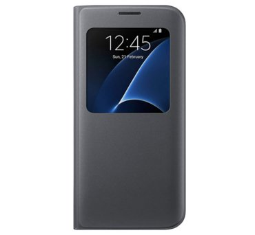 Etui S view cover do Galaxy S7, czarne (EF-CG930PBEGWW) (145881081)