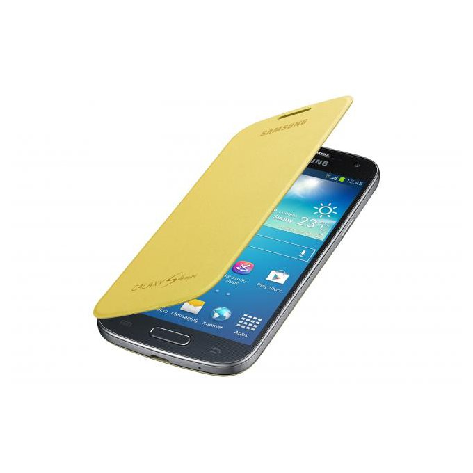 etui Flip Cover Galaxy S4 Mini (EF-FI919BYEGWW)