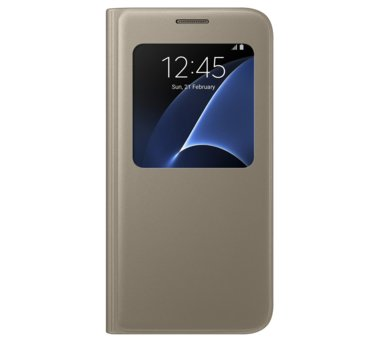 Etui S view cover do Galaxy S7, złote (EF-CG930PFEGWW) (145881083)