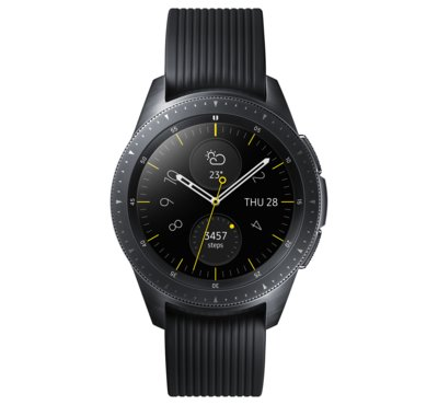 Galaxy Watch 42 mm, czarny (SM-R810NZKAXEO)