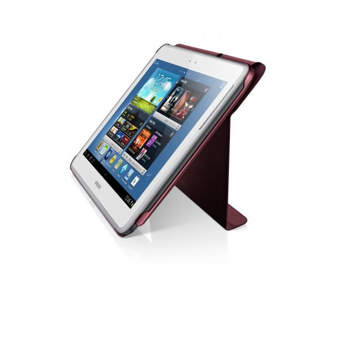 Etui w formie notebooka do Galaxy Note 10.1, czerwone (EFC-1G2NRECSTD)
