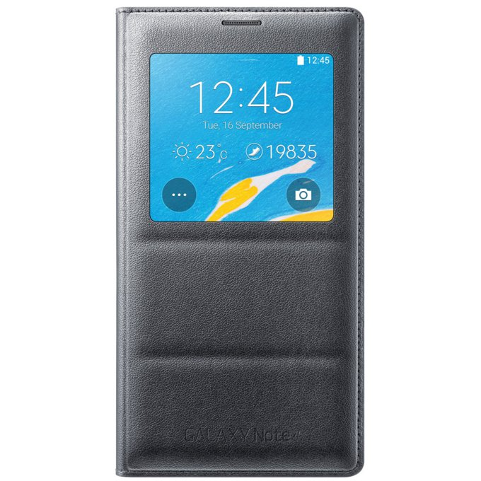 Galaxy Note 4 S View Cover Wireless czarny   (EP-VN910IBEGWW)