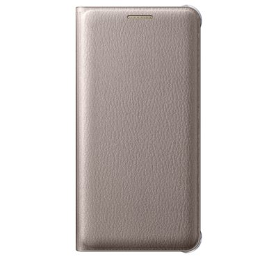 Etui flip wallet do Galaxy A5, złote (EF-WA510PFEGWW)