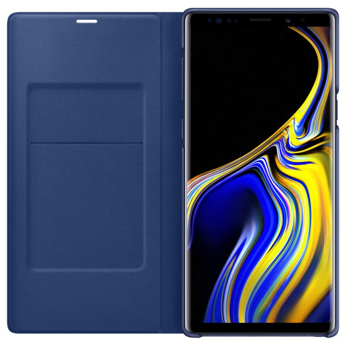 Etui LED View Cover do Galaxy Note9, niebieskie (EF-NN960PLEGWW)