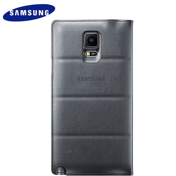 Galaxy Note 4 czarne S-VIEW COVER CHARCOAL (EF-CN910BCEGWW)