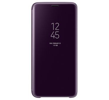 Etui Clear View Standing Cover do Galaxy S9, fioletowe (EF-ZG960CVEGWW) (168521525)