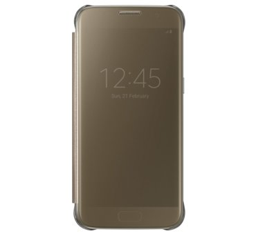 Etui clear view cover do Galaxy S7, złote (EF-ZG930CFEGWW) (145881099)