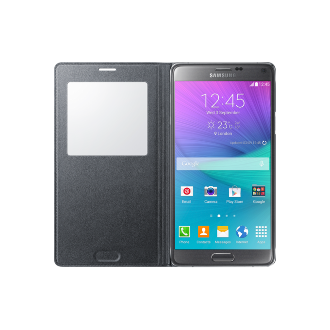 Galaxy Note 4 S View Cover Classic Edition  (EF-CN910FKEGWW)