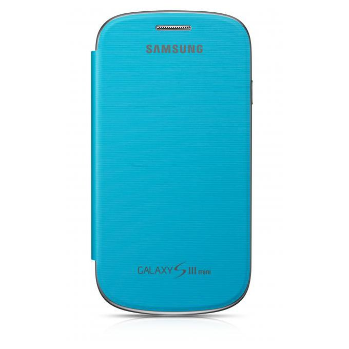 Case Cover do Galaxy S III mini Niebieski (EFC-1M7FLEGSTD)