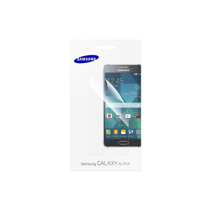Screen Protector Galaxy Alpha   (ET-FG850CTEGWW)