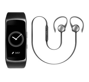 Gear fit 2 + Level Active Earphone (EO-BG930CB_SM-R3600DAA) (145881961)