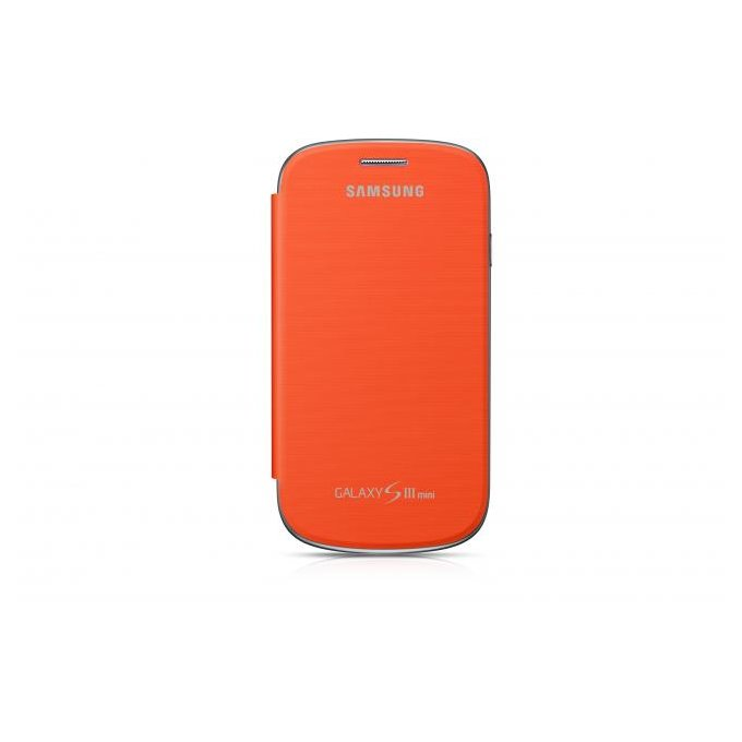Case Cover do Galaxy S III mini Pomarańczowy (EFC-1M7FOEGSTD)