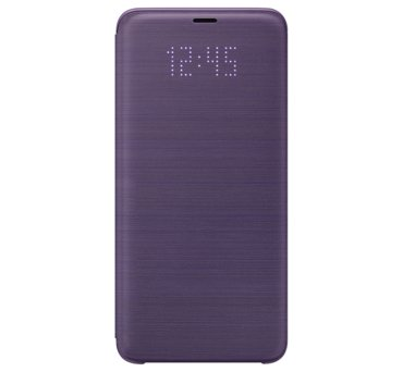 Etui LED View Cover do Galaxy S9+, fioletowe (EF-NG965PVEGWW) (168521183)