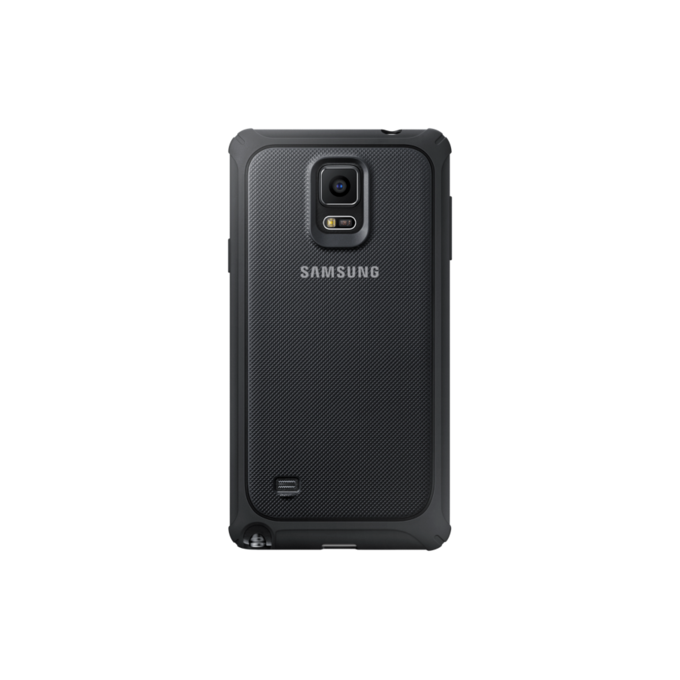 Galaxy Note 4 Protective Cover srebrny  (EF-PN910BSEGWW)