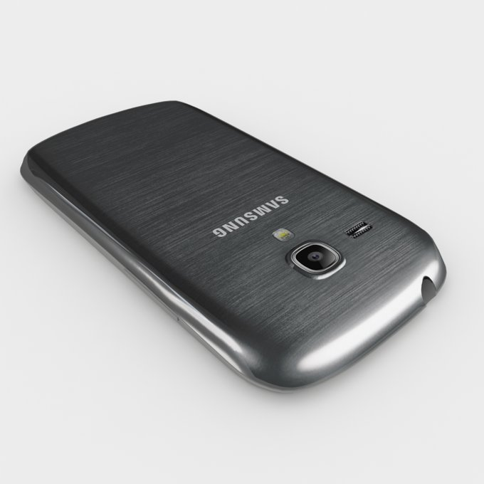 Galaxy S III Mini VE, szary
