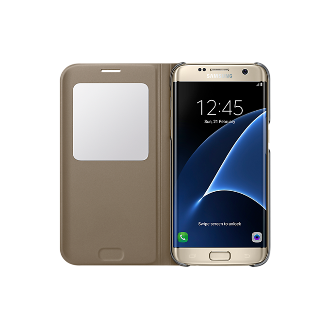 Etui S View Cover do Galaxy S7 edge