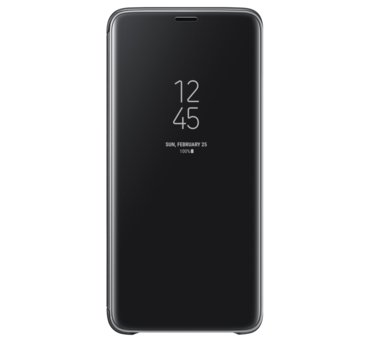 Etui Clear View Standing Cover do Galaxy S9+, czarne (EF-ZG965CBEGWW) (168521487)