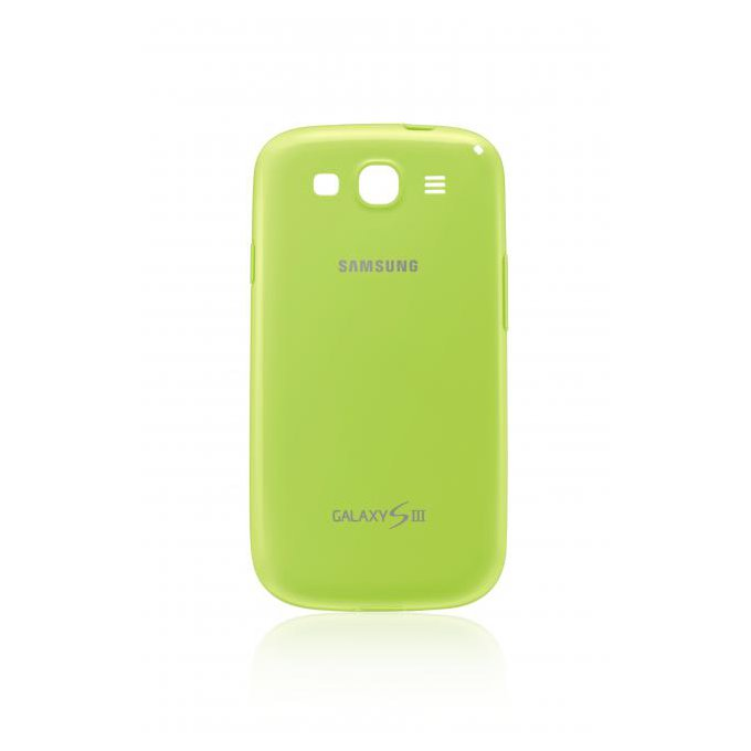 Silicon Cover do Galaxy S III Zielony (EFC-1G6PMECSTD)