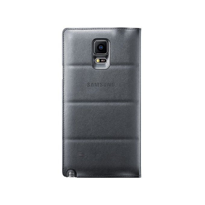 Galaxy Note 4 Flip Wallet szary  (EF-WN910BCEGWW)