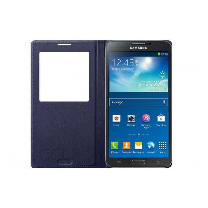 S View Cover Galaxy Note 3 Niebieski (EF-CN900BVEGWW)