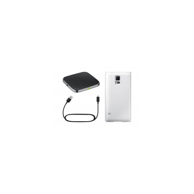 S View Cover Wireless Kit Promo Galaxy S5 biały   (EP-KG900PWEGWW)