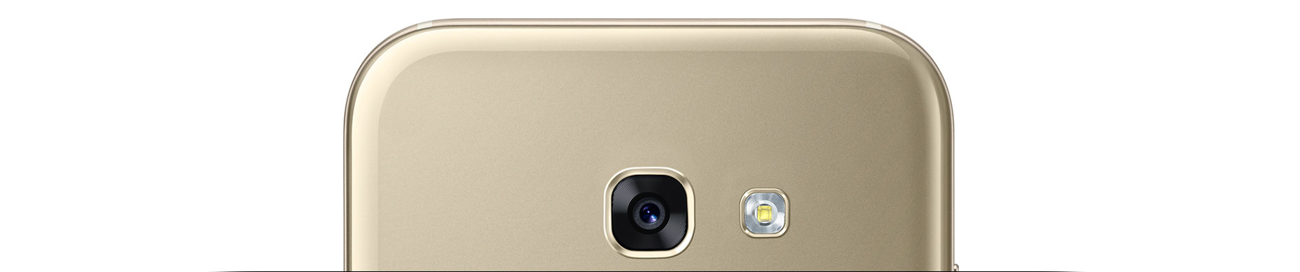 Samsung Galaxy A5 Gold Back Aparat