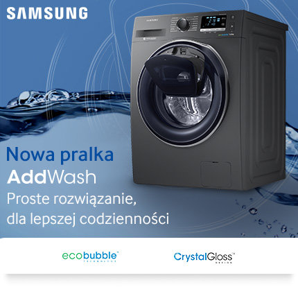 Pralka Samsung WW80K6414QX Eco Bubble