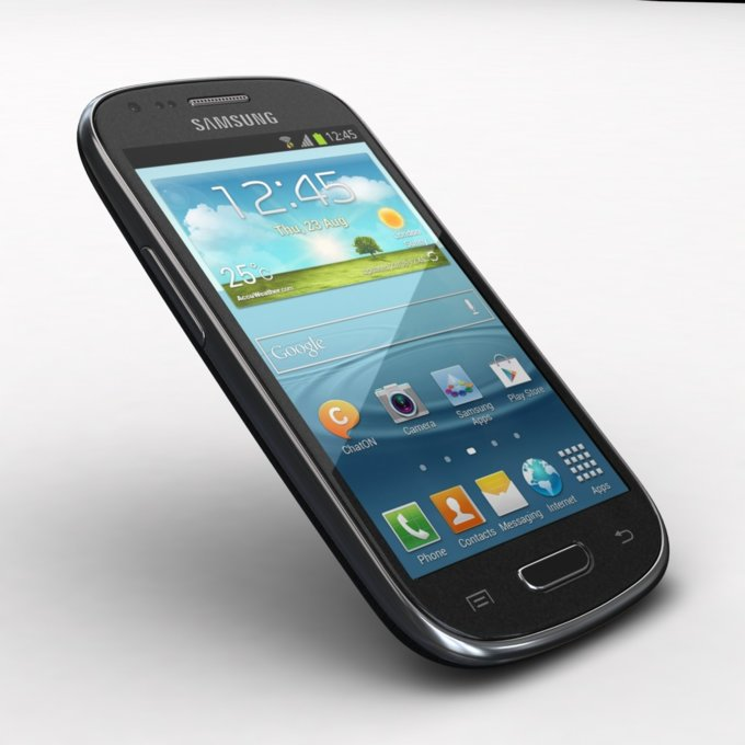 Galaxy S III Mini Value Edition, czarny