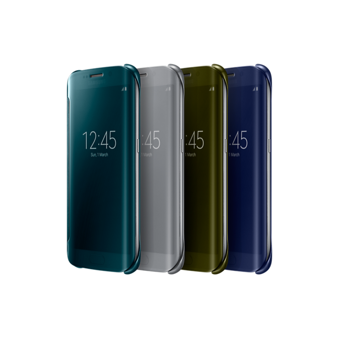 Etui Clear View Cover do Galaxy S6 edge