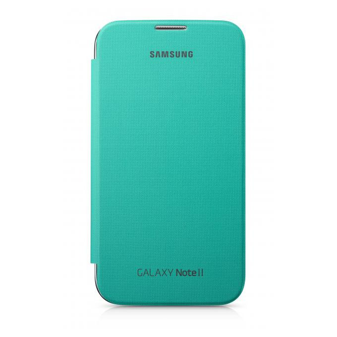 Case Cover Galaxy Note 2 Zielony (EFC-1J9FMEGSTD)
