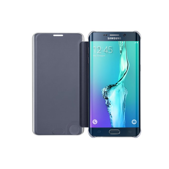 etui Clear View Cover Galaxy S6 edge+ (EF-ZG928CBEGWW)