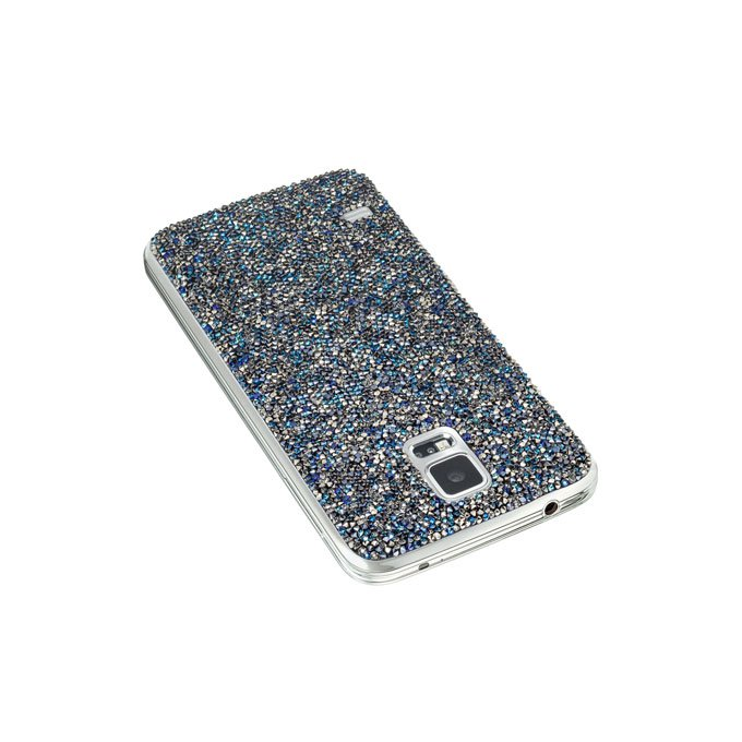 GALAXY S5 Crystal Battery Cover VIBRANT BLUE Swarovski  (EB-A5115699SWA)