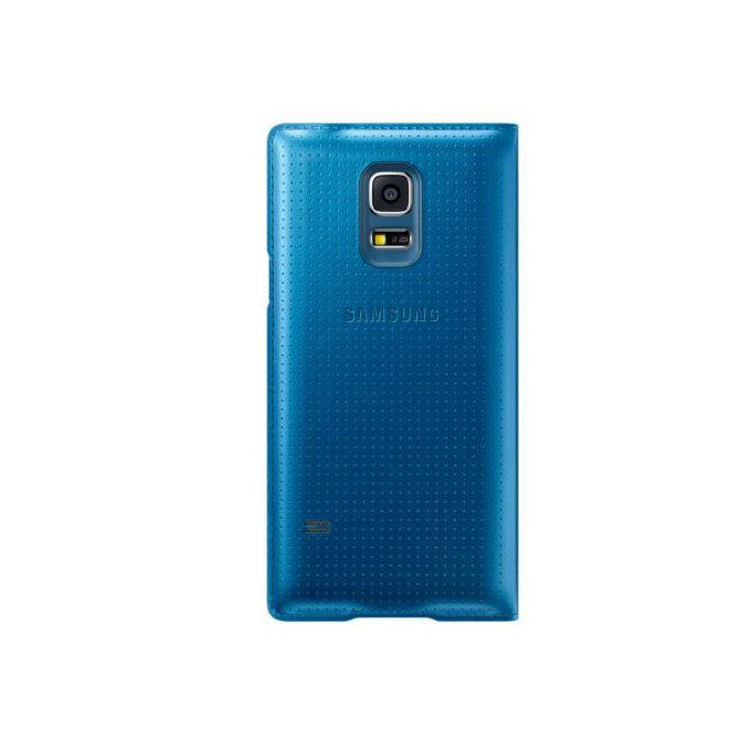 Galaxy S5 mini S View Cover Niebieski  (EF-CG800BEEGWW)