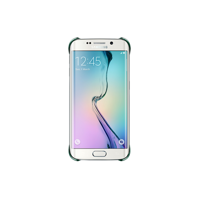 Etui Clear Cover do Galaxy S6 edge